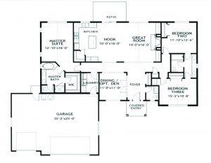 Renderings Beth-2051 floor plan